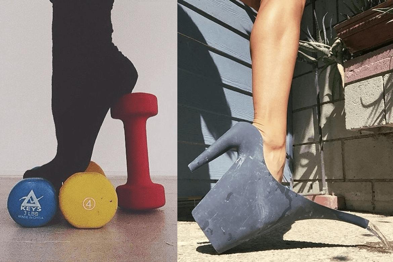 נעל משפך ונעל שלוש משקולות