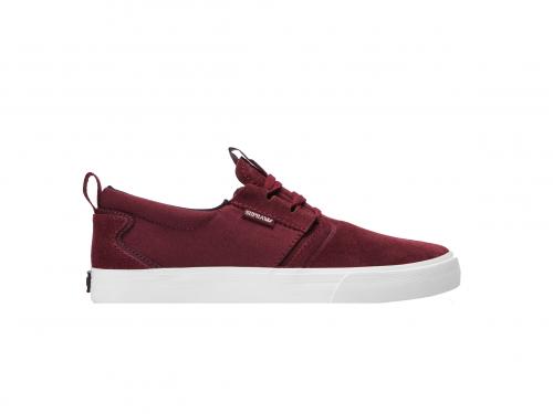 סופרה - נעליים בצבע בורדו לגברים