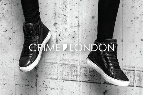 Black Crime London shoes | נעלי קריים לונדון שחורות