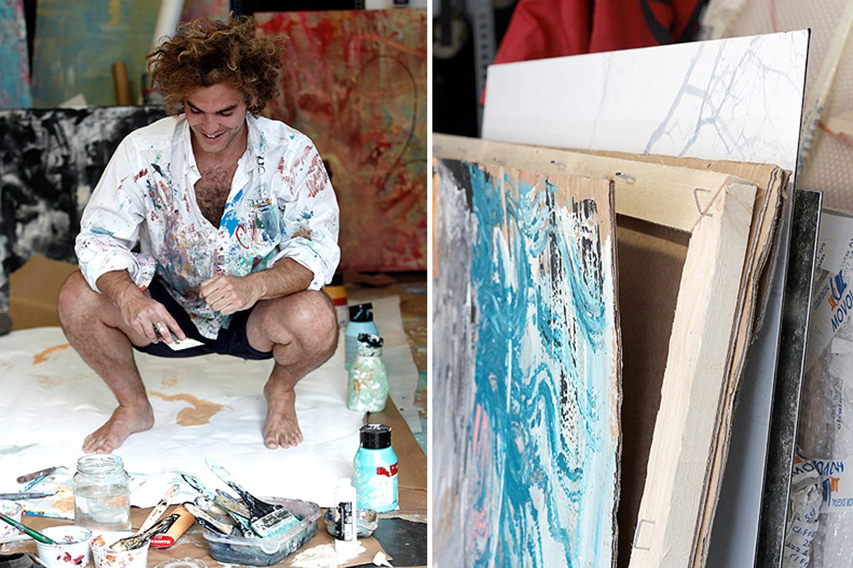 ARO - אמנים מציירים על קנבס
