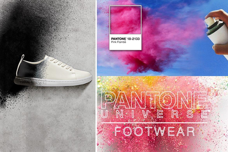 נעליים בצביעה ייחודית - Pantone