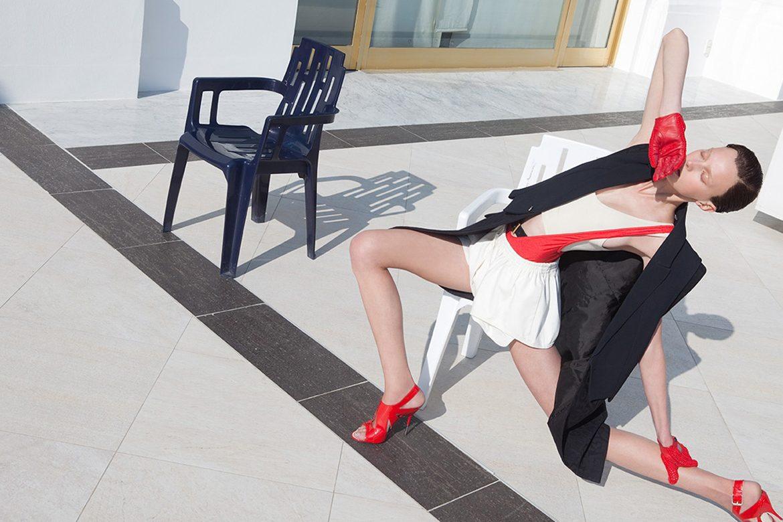 ויויאן סאסן עושה אמנות מאופנה