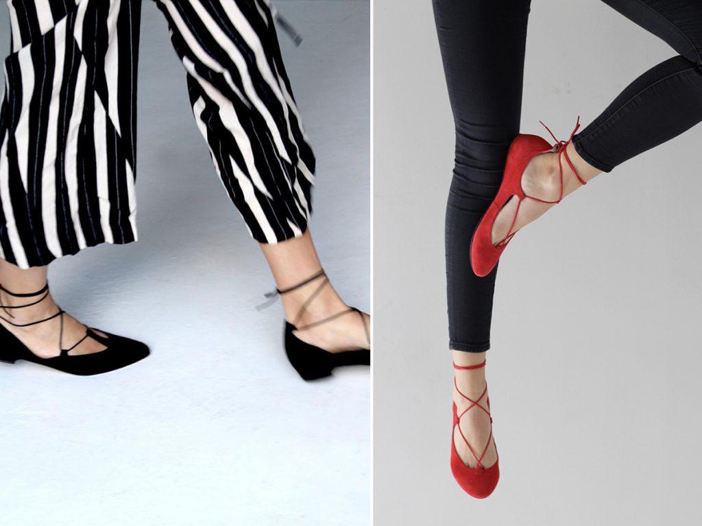 נעלי קשירה של ויאליס