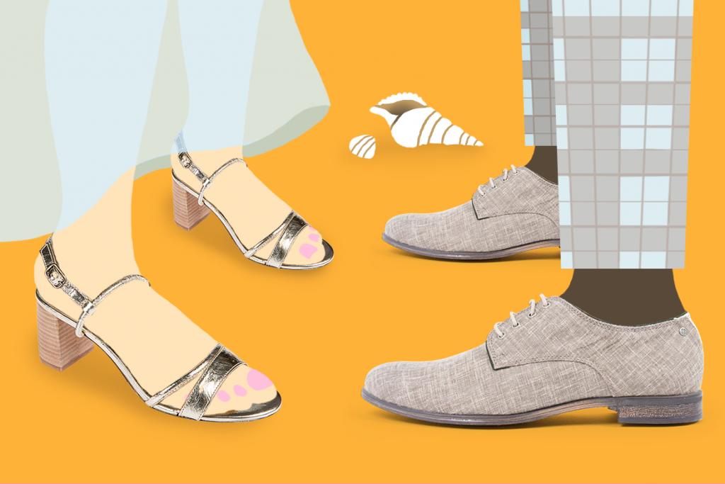 נעלי גברים ונשים לעונת החתונות בשופרא