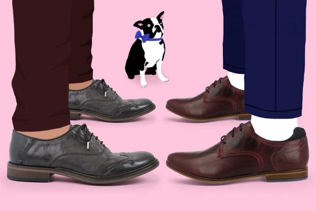 נעלי גברים לאירועים בשופרא