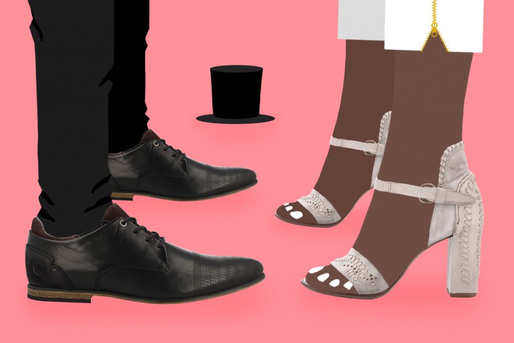 נעלי עקב של AS98 ונעלי אוקספורד של Bullboxer