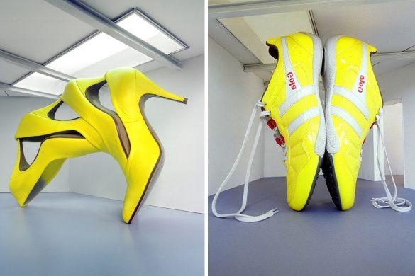 נעלי הענק של פטרוס כריסוסטומו - צהוב