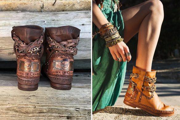 הנעליים של karma of charm בשופרא