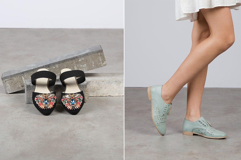 נעליים עם תכשיטים
