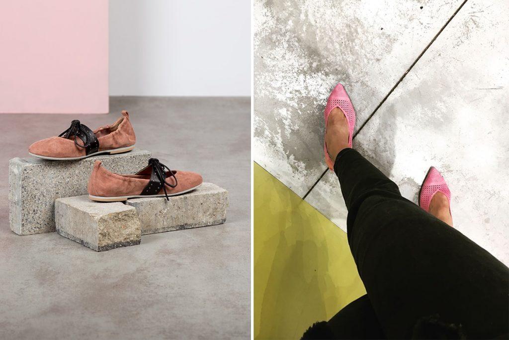 נעליים ורודות בקיץ 2018 בשופרא