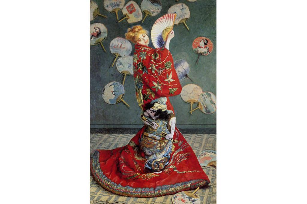 """הציור """"היפנית"""" של קלוד מונה (1876)"""