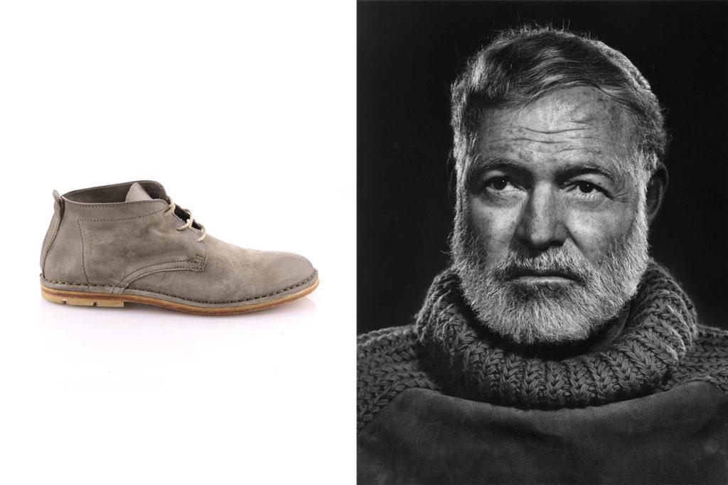 המינגווי ונעליים של אייאס 98