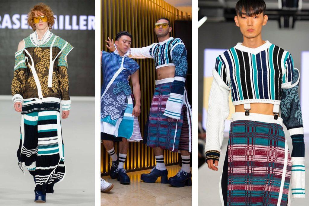 הבגדים מתערוכת הסיום של פרייזר מילר