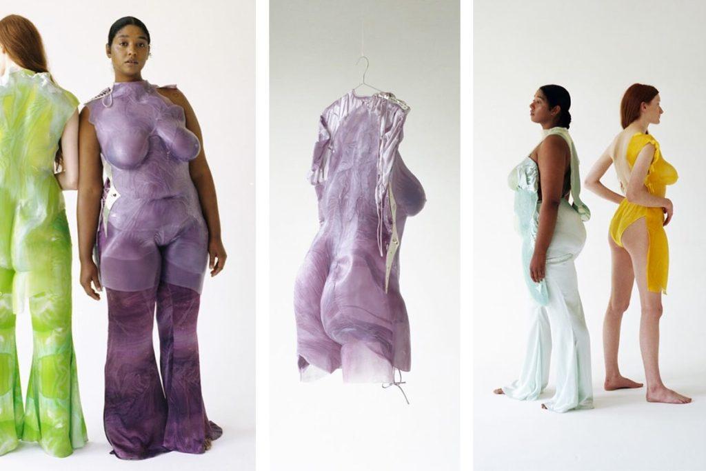 הבגדים מתערוכת הסיום של שינייד אודוויר