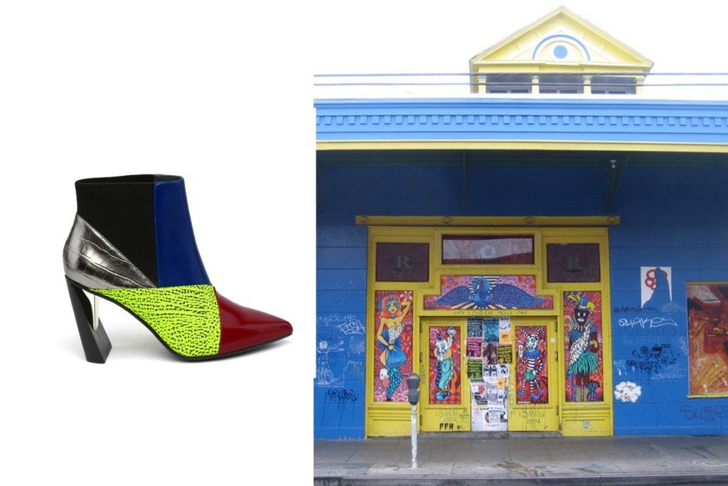 הארכיטקטורה של ניו אורלינס ושל יונייטד ניוד