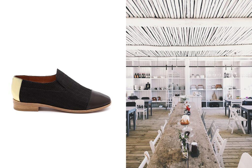 נעלי ברקלי של ג'פרי קמפבל מול מסעדת פופ-אפ