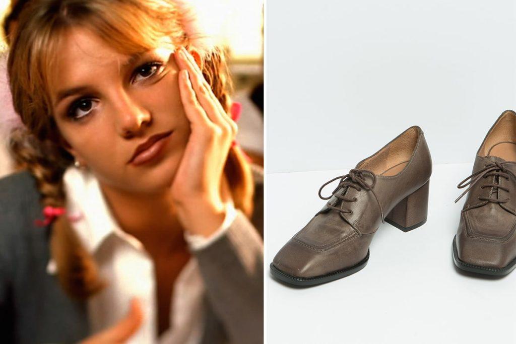 בריטני ונעליים של שומייקר