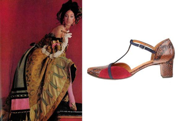 עבודה של ססיל ביטון לווג ונעליים של צ'י מיהרה